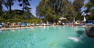 中央公园温泉酒店 - 伊斯基亚 - 游泳池