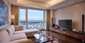 河内辉盛阁国际公寓 - 河内 - 客厅