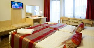 克里斯塔尔酒店 - 布拉格 - 睡房