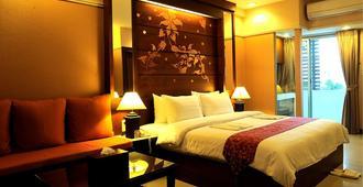 素万那普机场玛丽亚精品酒店 - 曼谷 - 睡房