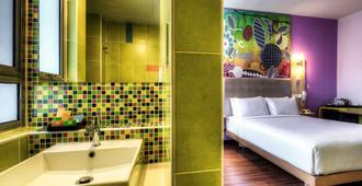 吉隆坡宜必思风格弗拉斯尔商务园酒店 - 吉隆坡 - 睡房