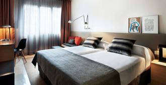 巴塞罗那亚伯达美居酒店 - 巴塞罗那 - 睡房