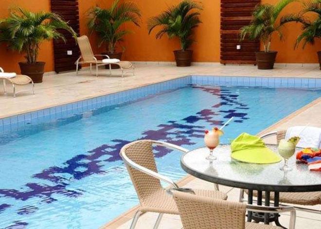 安眠酒店-马瑙斯 - 马瑙斯 - 游泳池