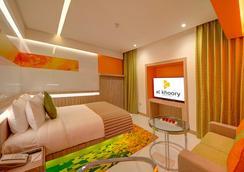 奥酷瑞中庭酒店 - 迪拜 - 睡房