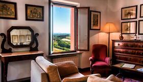 锡耶纳圣卡塔林纳酒店 - 锡耶纳 - 客厅