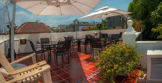 巴卢阿特家庭旅馆酒店 - 卡塔赫纳 - 阳台