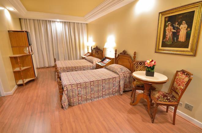 卡撒拉尔酒店 - 圣保罗 - 睡房