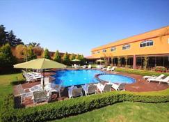 第五太阳酒店 - Teotihuacán de Arista - 游泳池