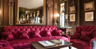 巴黎保护区 Spa 酒店 - 巴黎 - 客厅