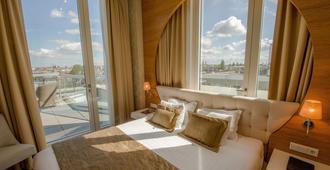 阿姆斯特丹城中大酒店 - 阿姆斯特丹 - 睡房