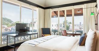 美洲贸易酒店 - 巴拿马城 - 睡房