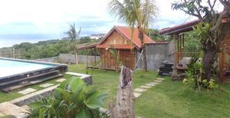 绿波尔海滩别墅酒店 - South Kuta - 户外景观