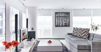 新加坡启汇城馨乐庭公寓 - 新加坡 - 客厅