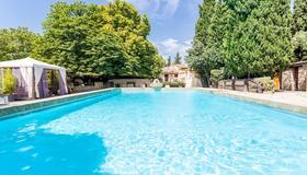 普罗旺斯地区艾克斯马斯艾特蒙酒店 - 普罗旺斯艾克斯 - 游泳池