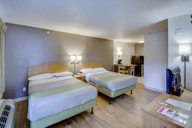 休斯顿霍比 6 号开放式公寓酒店 - 休斯顿 - 睡房