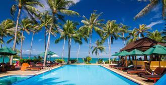 可可帕姆海滩度假村 - 苏梅岛 - 游泳池