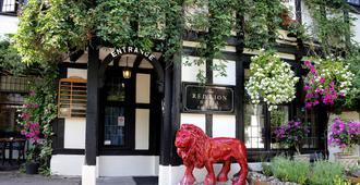 贝斯维斯特红狮酒店 - 索尔兹伯里 - 建筑