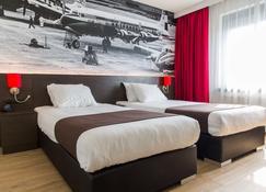 阿姆斯特丹机场贝斯韦斯特优质酒店 - 霍夫多普 - 睡房