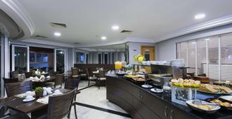 舒适伊比拉普埃拉酒店 - 圣保罗 - 自助餐