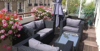 阿米斯旅馆 - 巴黎 - 露台