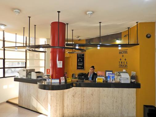 特雷斯克鲁塞斯酒店 - 蒙得维的亚 - 柜台