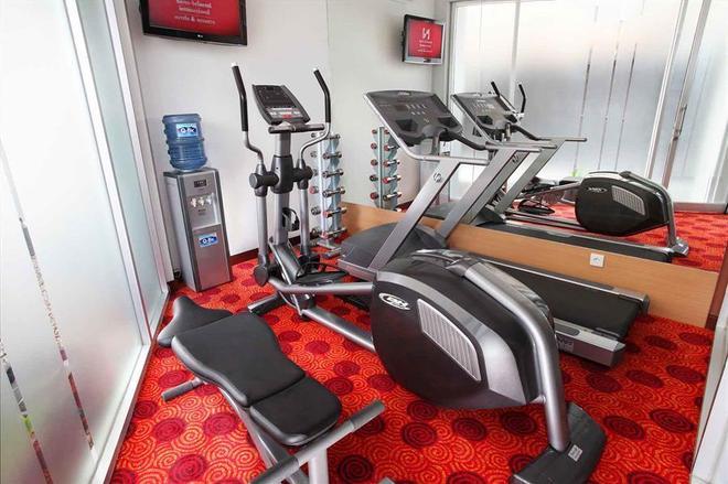 巴厘巴板瑞士博林酒店 - 巴厘巴板 - 健身房
