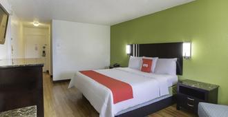 国王酒店 - 拉斐特 - 睡房
