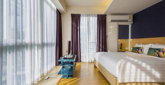 曼谷索罗快捷酒店 - 曼谷 - 睡房