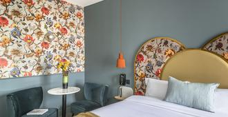 巴黎莱奥帕尔多酒店 - 巴黎 - 睡房