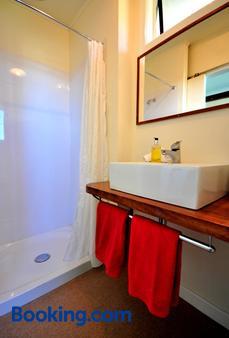 格林埃克斯高山小屋及别墅酒店 - 汉默温泉 - 浴室