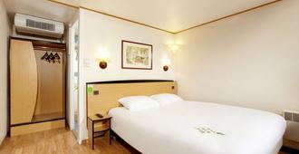 钟楼加莱酒店 - 加来 - 睡房