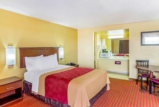 麦卡莱斯特生态酒店 - McAlester - 睡房