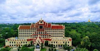 玫瑰花园酒店 - 仰光 - 商务中心