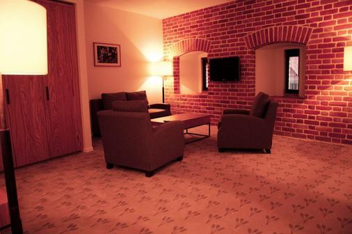 弗罗茨瓦夫市中心格拉纳达套房酒店 - 弗罗茨瓦夫 - 客厅