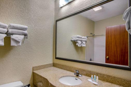 杜鲁斯 I-85 凯瑞华晟套房酒店 - 德卢斯 - 浴室