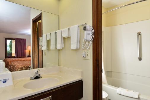 卡特斯维尔美洲最佳价值酒店 - 卡特斯维尔 - 浴室