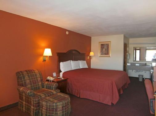 卡特斯维尔美洲最佳价值酒店 - 卡特斯维尔 - 睡房