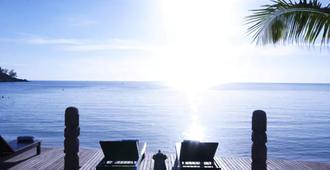 沙拉海滩度假村 - 帕岸岛 - 睡房