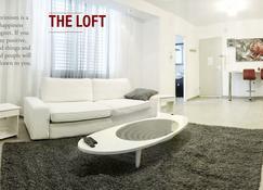 特拉維夫市中心公寓套房 - 48平方公尺/1間專用衛浴 - 特拉维夫 - 客厅