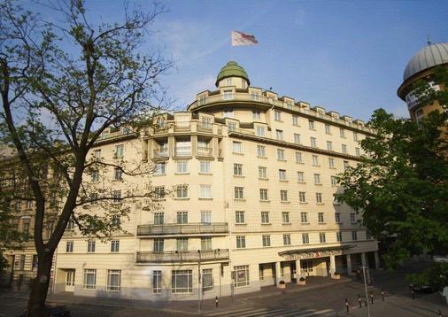 维也纳阿纳纳斯奥地利时尚酒店 - 维也纳 - 建筑