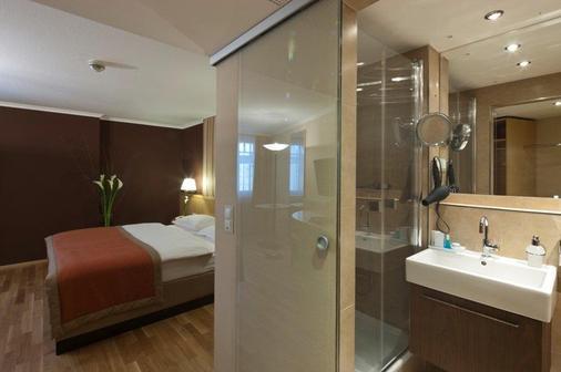 维也纳阿纳纳斯奥地利时尚酒店 - 维也纳 - 浴室