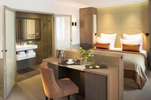 萨克森艾菲尔酒店别墅 - 巴黎 - 睡房