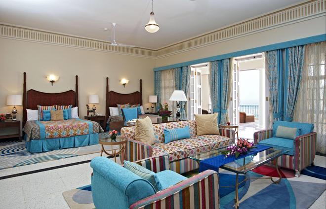 拉姆格尔港威酒店 - 斋浦尔 - 睡房