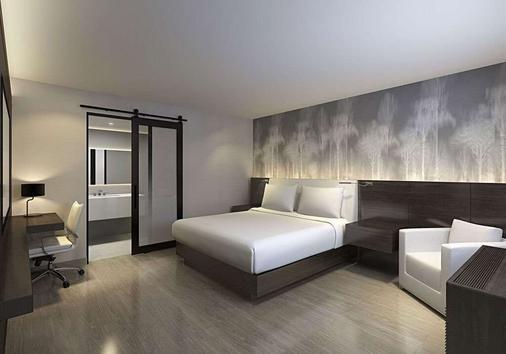鸟巢酒店 - 帕罗奥多 - 睡房