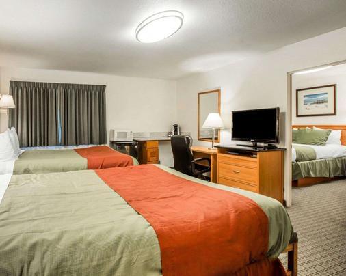 罗德威新港旅馆 - 新港 - 睡房