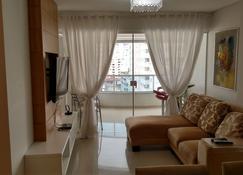 达尔皮亚萨公寓酒店 - 巴拉奈里奥-坎布里乌 - 客厅