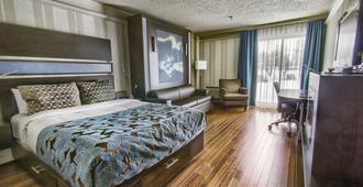 魁北克酒店 - 魁北克市 - 睡房