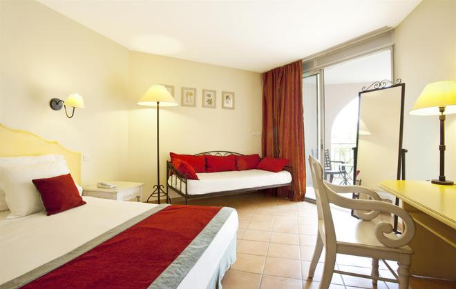 帕哈阿维尼翁南贝斯特韦斯特酒店 - 阿维尼翁 - 睡房