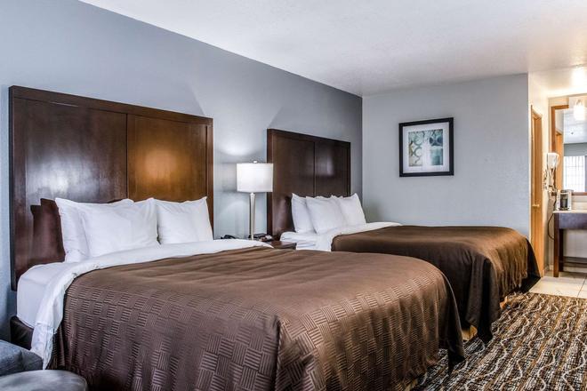 洪堡湾克拉里昂酒店 - 尤里卡 - 睡房