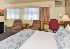 斯文兹加德丹麦小屋美洲最佳价值酒店 - 索尔万 - 睡房